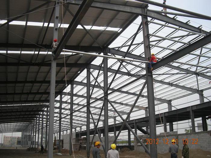 江河幕墙钢结构厂房